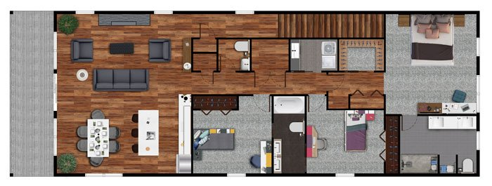 3Bedroom2ndFloorPlan